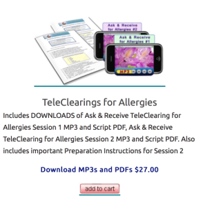 allergy teleclearing