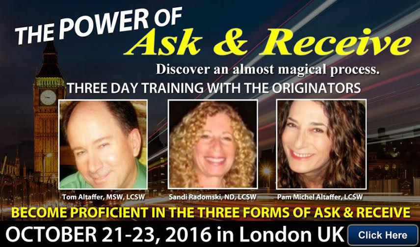 Power of Ask & Receive in London 2016